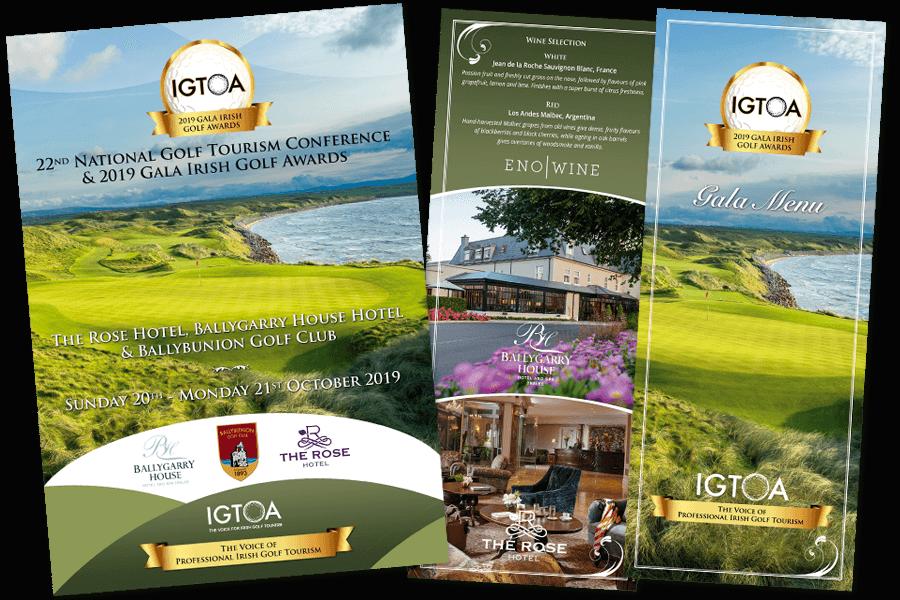 IGTOA Gala Booklet and Menu