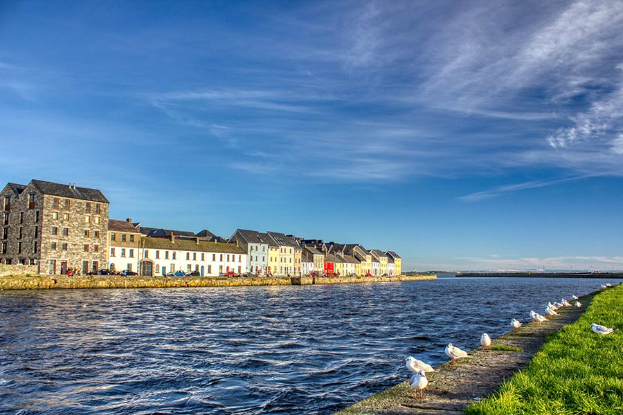 Galway long walk